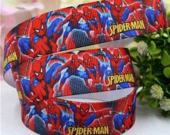 Spiderman Grosgrain Ribbon