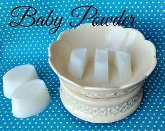 Baby Powder - wax melts - wax shots - candle melts - tart melts - home fragrance