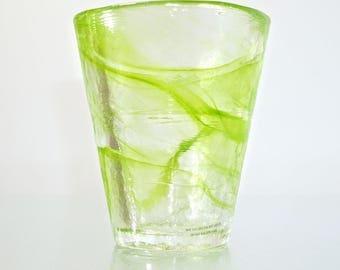 Kosta Boda Mine Tumbler - Lime