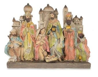 "12"" Bethlehem Nativity Scene Figurine"