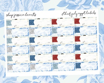 4th of July Appointment Labels