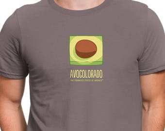 Men's Avocolorado T-Shirt, The Foodnited States
