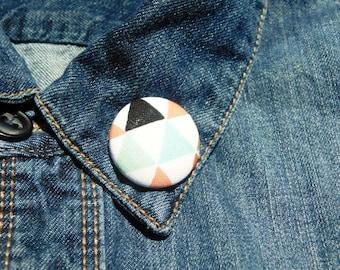 Triangle clutch back  Lapel Pin