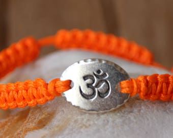 shamballa bracelet with pearls silvery