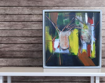 Abstract Painting, Painting, Abstract Art, Original Art, Modern Art, Stretched Canvas, Modern Abstract, Handmade, Wall Art, Acrylic Painting