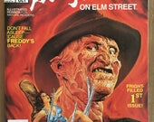 Vintage Freddy Krueger - Marvel Comic Magazine - Issue 1 - Nightmare on Elm Street - 1989