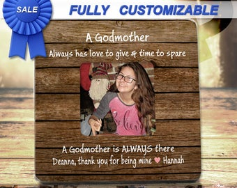 Godmother frame Godfather Frame Godmother Gift Godfather Gift Godparent Frame Godparent Gift for Godparents Gift from Godchild Godparent