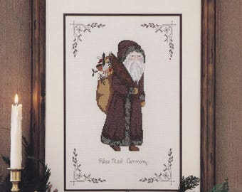Saint-to-Claus Series Pelze Nicol, MaJor Presentations Cross Stitch Pattern Booklet 13