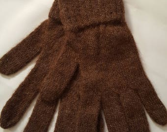 Alpaca gloves - Medium