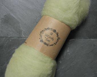 Dahlia Dyed Merino Wool Batt