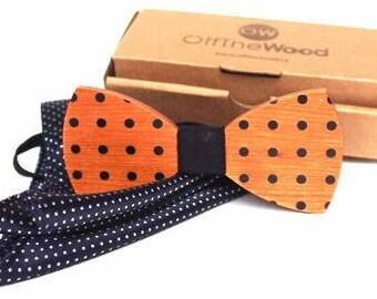 Cherrywood Polka Dots