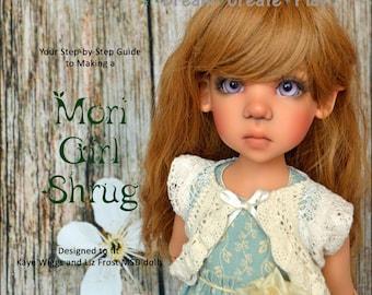 Mori Girl Shrug for Kaye Wiggs & Liz Frost MSD dolls