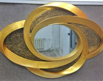 M15 Antique Solid Wood Mirror