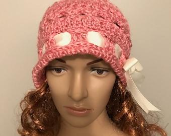 Cute Pink Cloche