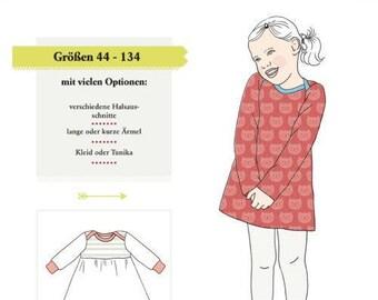 Cut patern Jersey dress Klimperklein