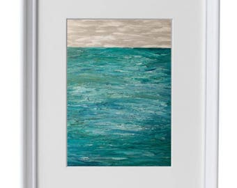 11x14 - Turquoise Waters - Art Print