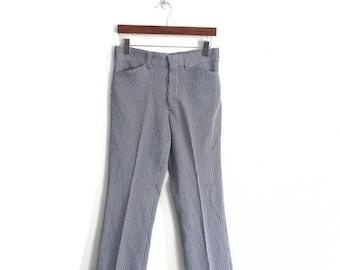 "25% DROP RARE!! 70s Vintage LEVIS Panatela Pants waist 30""x37.5""Rare Lee Riders Wrangler Workwear Workers"