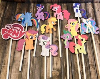 MLP My Little Pony Cupcake Toppers