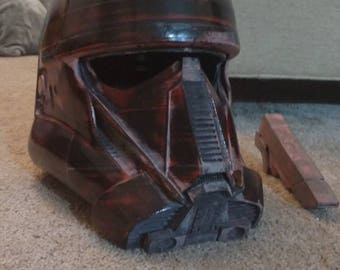 Fully finished Star Wars Death Trooper helmet (with scope)