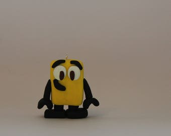 Ornament= Robot -Polymer Clay-