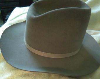 Vintage Felt Cowboy Hat
