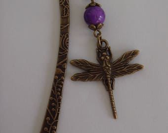 Sweet Dragonfly bookmark for dancing between the pages of your book