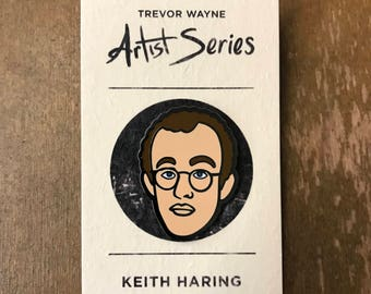 Keith Haring Lapel Pin