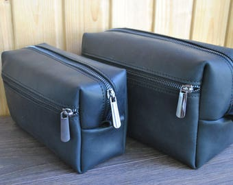 Mens Dopp Kit, leather Dopp Kit, anniversary gift, mens gift, gifts for him, gift for men, groomsmen gift