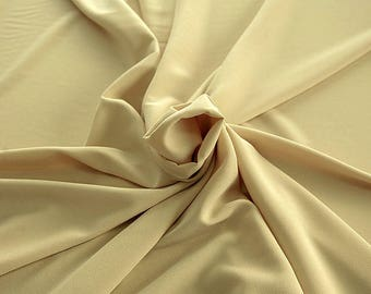 905009-Crepe 100% Polyester, width 150 cm, made in Italy, dry washing, weight 306 gr