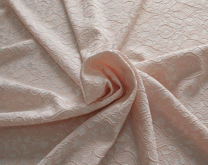990071-140 Brocade-95% PL, 5% PA, width 130 cm, made in Italy, dry cleaning, weight 205 gr