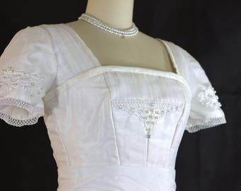 Replica Edwardian Wedding Dress