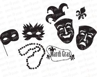 Mardi Gras SVG - mardi Gras Dxf - Mardi Gras SVG Designs - Mardi Gras Mask - Mardi Gras Clipart - Mardi Gras Shirt -Mardi Gra
