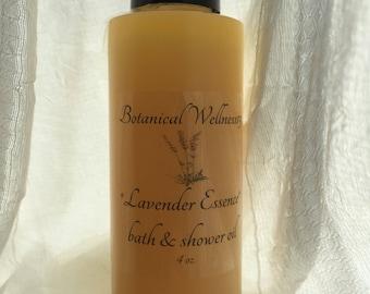 Lavender Essence* Bath and Shower Oil