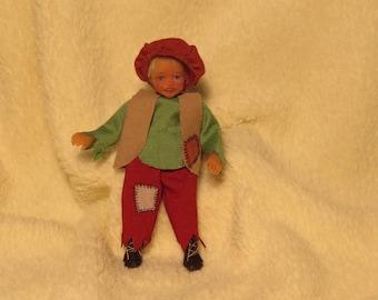 OOAK MIniature Victorian Boy Handmade Dolls House Artist
