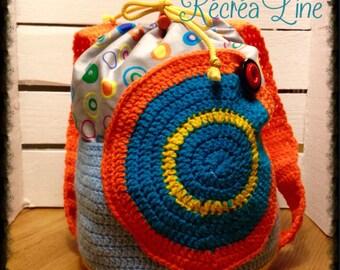 Backpack child, maternal, OOAK