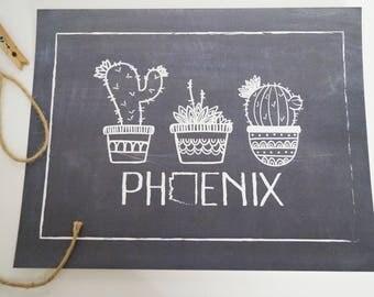Phoenix Cacti