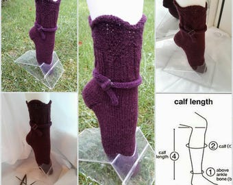 Wool socks.Woman socks.Hand knitted socks.Natural wool socks.Warm socks.Winter socks.Great gift