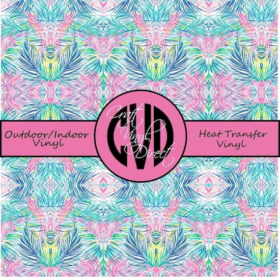 Beautiful Patterned Vinyl // Patterned / Printed Vinyl // Outdoor and Heat Transfer Vinyl // Pattern 726