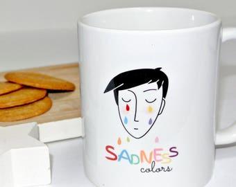 "Cup ""Sadness"" colors """