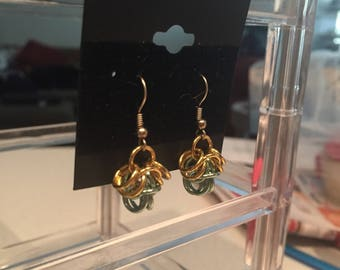 Chainmaille Inspires Earrings