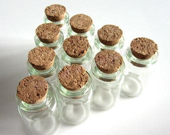 1 glass vial with Cork 50 X 22 MM.