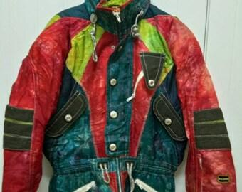 rare Vintage SALOMON Ski Jacket Unisex Size L Large