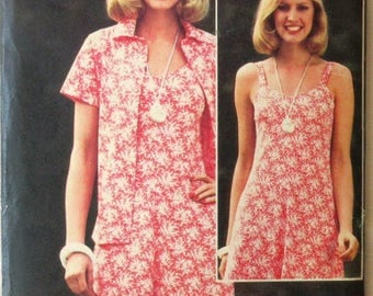 A Vintage Sewing Pattern for a Lady's Dress and Jacket in Size 12 (Butterick 5767) (107)