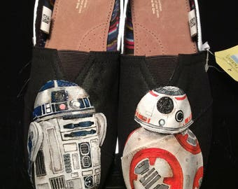 Star Wars Inspired Custom Painted Shoes
