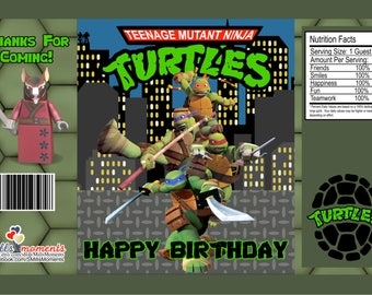 Ninja Turtle Chip Bag *Digital Download*