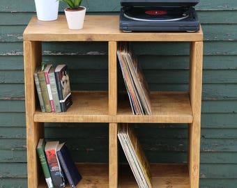 record Storage Unit/storage unit/books shelf/shelf unit