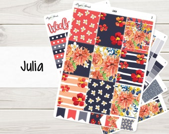 Julia Weekly Kit | Planner Stickers