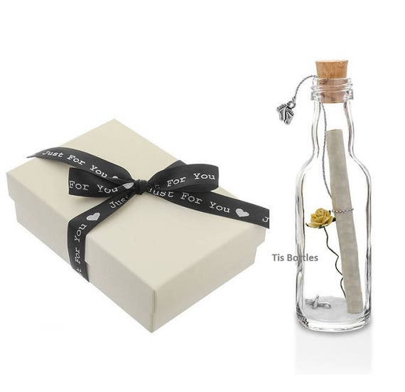 Expecting Baby Gifts Uk : Pregnancy announcement personalised message in a bottle gift