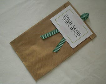"""Home made"" gift bag personalized"