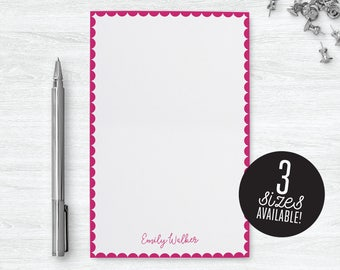 Girls Notepad Personalized Girl Gifts for Little Girls, Personalized Notepad Stationary for Girls Personalized Gift for Niece